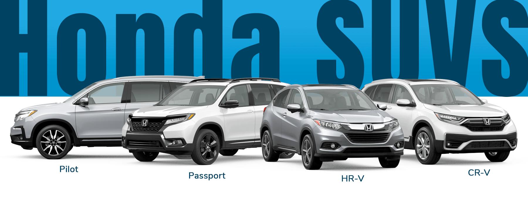 Honda SUVs Verus the Competition Slider