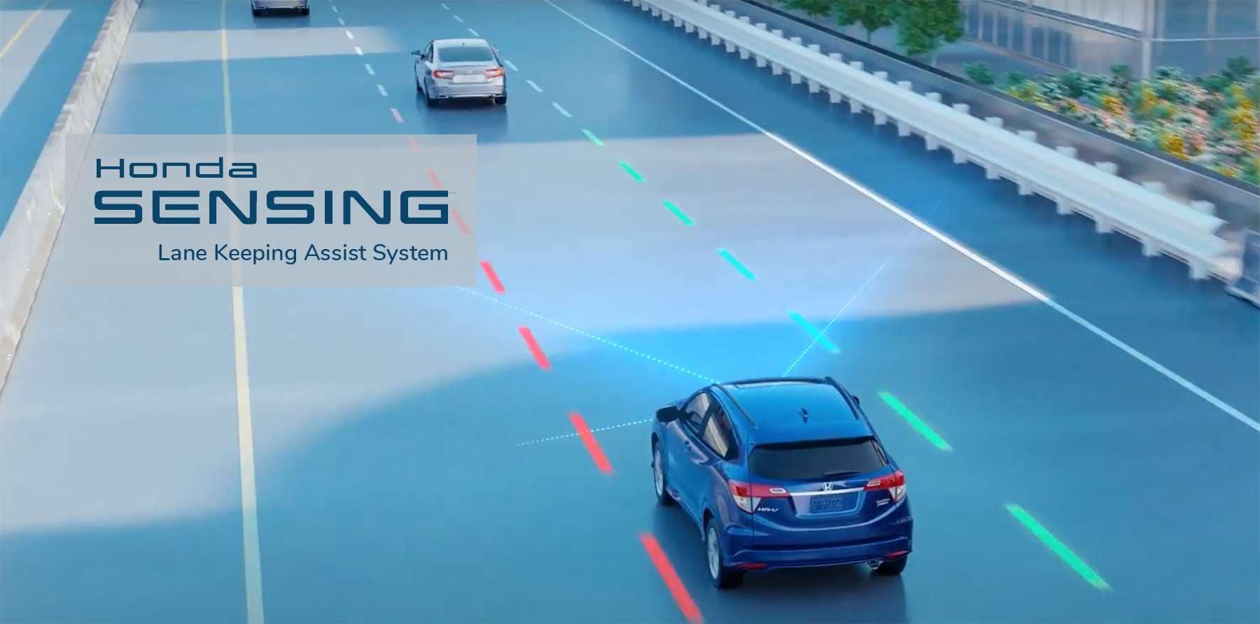Honda Lane Keeping Assist System LKAS Slider