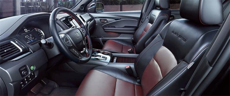 2021 Honda Ridgeline Black Edition Interior Image