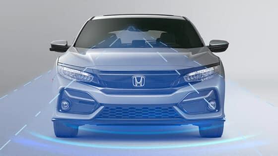 Honda Civic Hatchback with RDM
