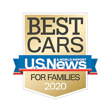 Honda Fit U.S. News Best Car for Families Award