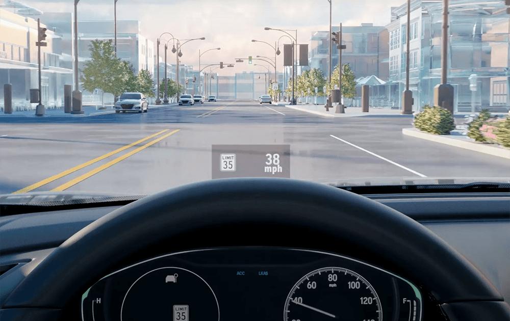 Honda Traffic Sign Recognition Video Still