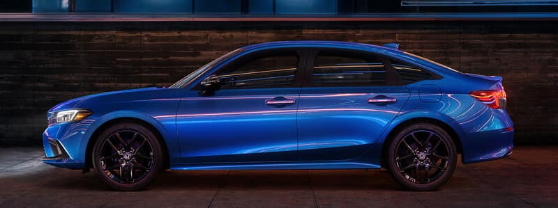 2022 Honda Civic Sedan Exterior Dimensions