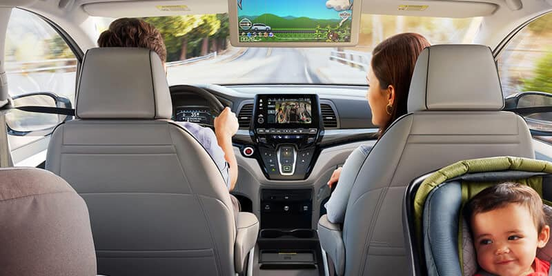 Introducing the 2022 Odyssey Interior Image