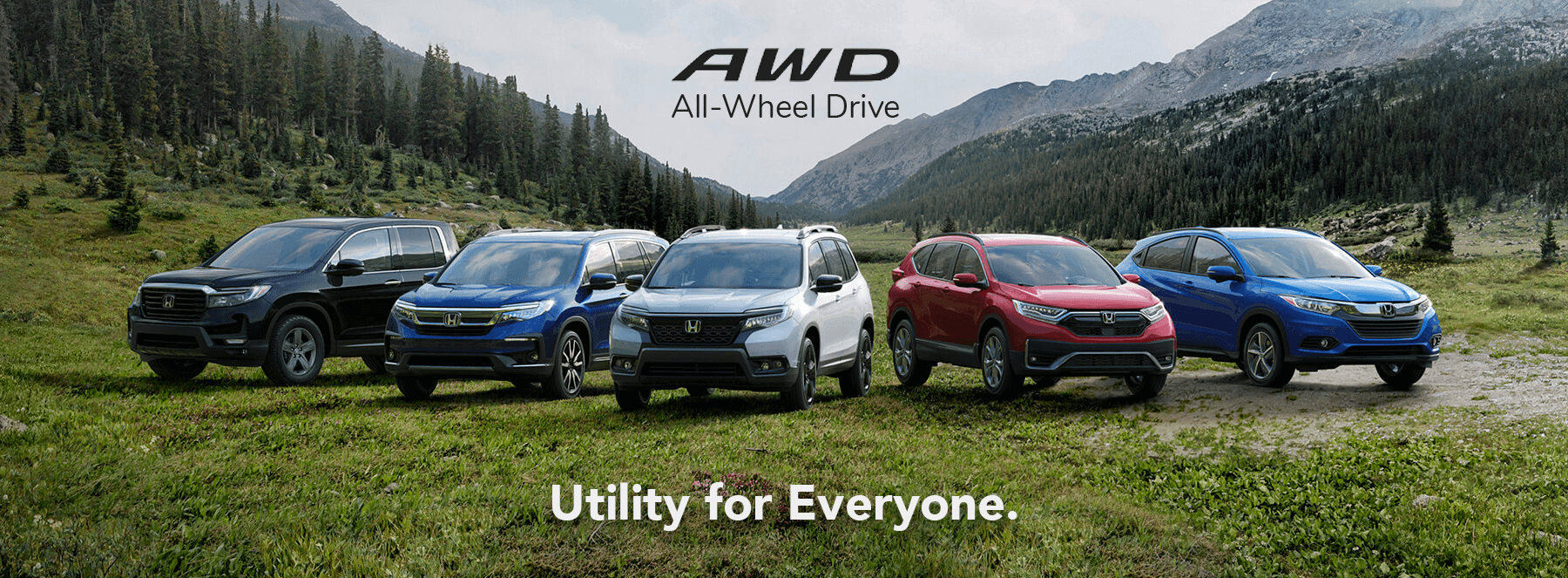 VEHSC Honda AWD Utility for Everyone
