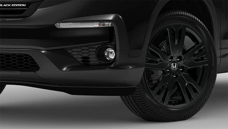 New Honda Pilot Black Edition Exterior Features Image