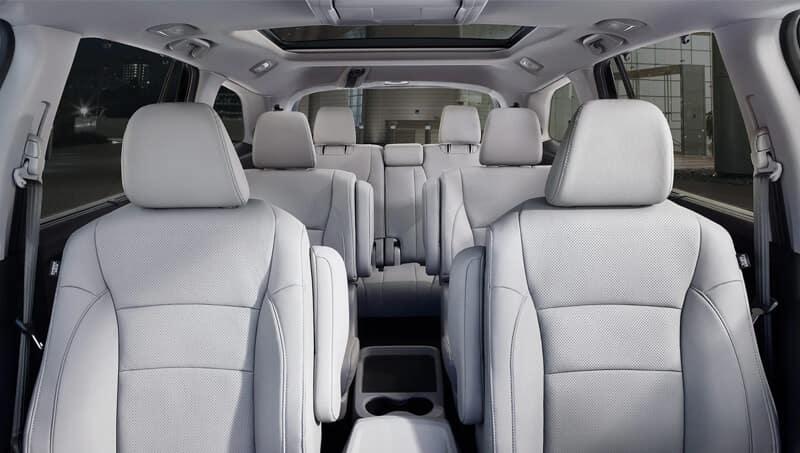 New Honda Pilot Interior Dimensions Image
