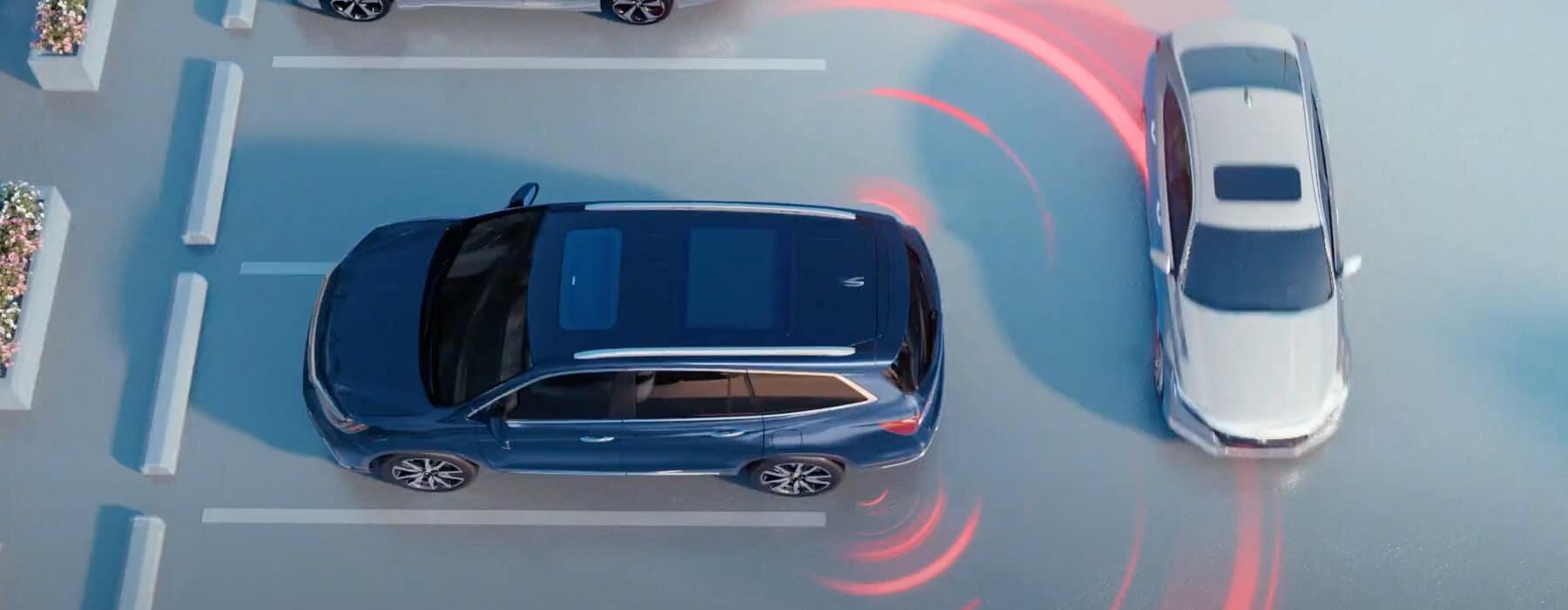 Honda Cross Traffic Monitor VEHSC Slider
