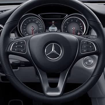 2018 MB GLA Steering Wheel