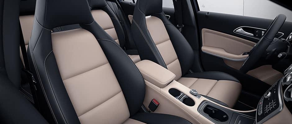 2018 MB GLA Seats