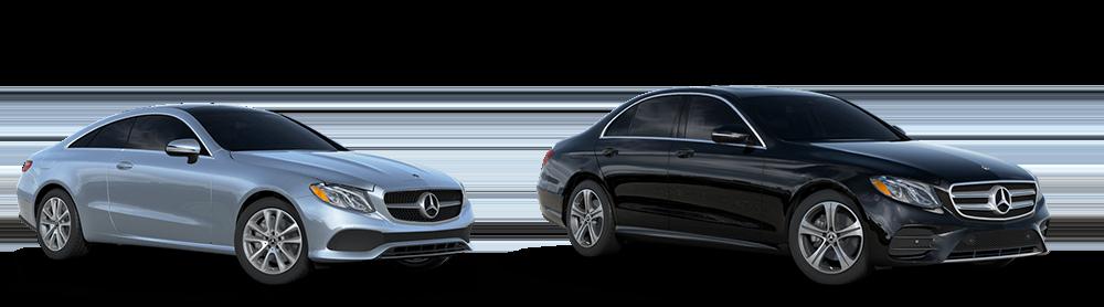 2018 E-Class Coupe and Sedan