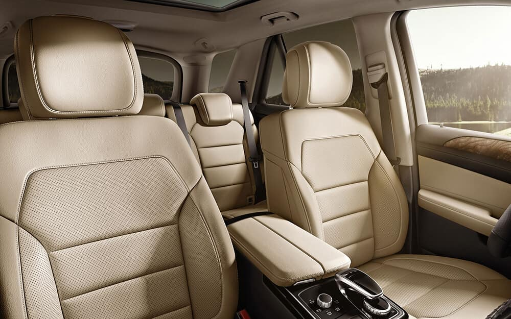 2018 MB GLE Seating