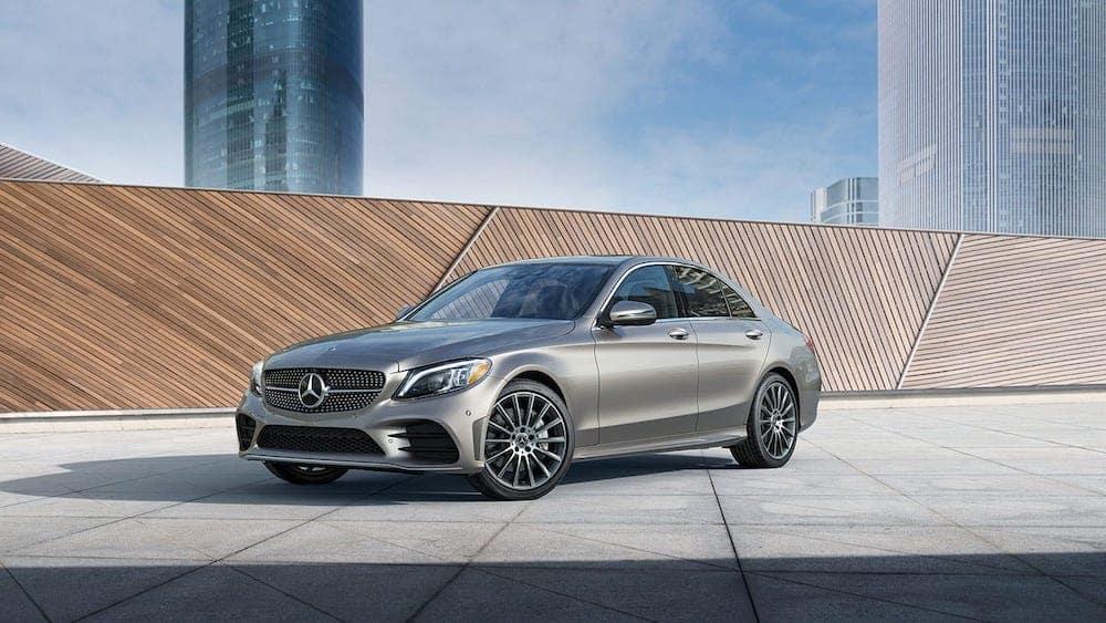 2019 Mercedes-Benz C-Class parked