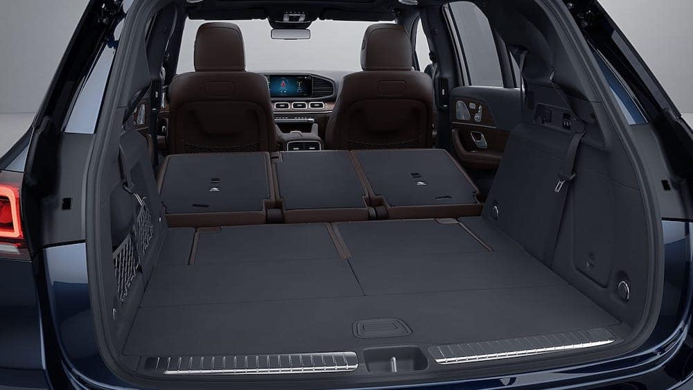 2020 Mercedes-Benz GLE cargo area