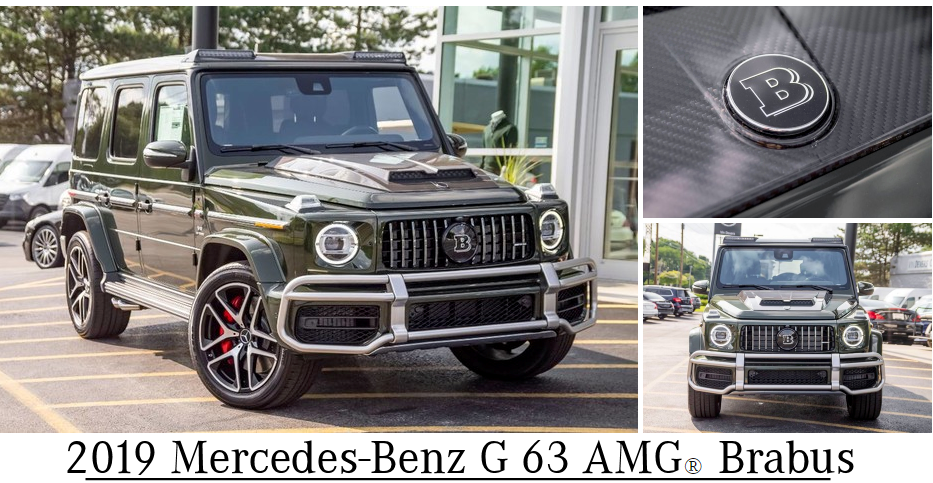 2019 Mercedes-Benz G 63 AMG® Brabus 4MATIC®