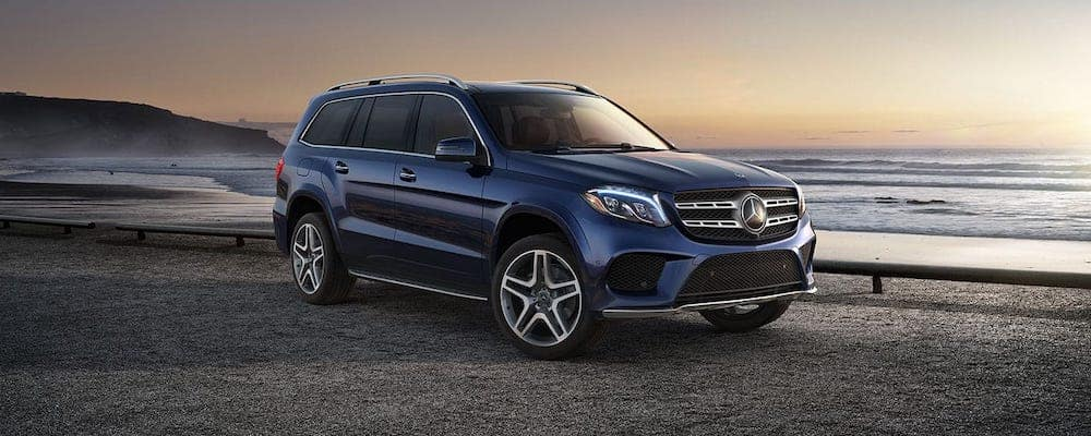 2019 Mercedes-Benz GLS parked