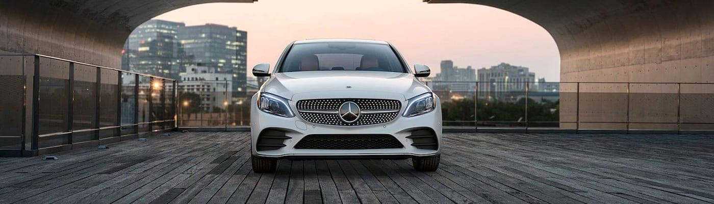 2020 Mercedes-Benz C-Class from the front