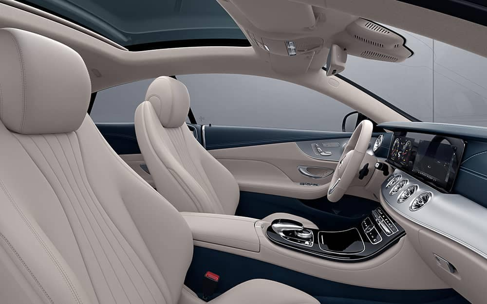2020 MB E-Class Coupe Cabin