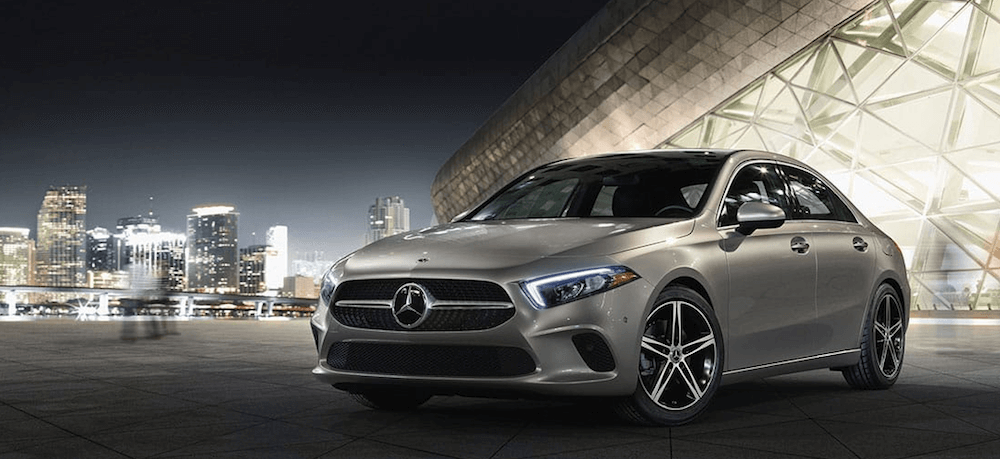 2020 Mercedes-Benz A-Class in urban setting