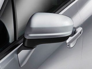Folding power side mirrors in the 2014 Honda Civic