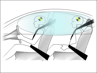 Front side airbags 2014 Honda Civic