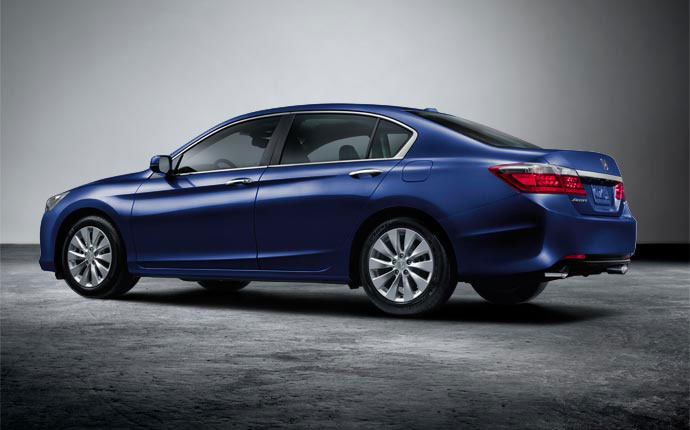 2015 Honda Accord Obsidian Blue Pearl