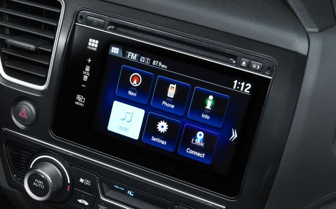 2015 Honda Civic 7 Inch Display Audio