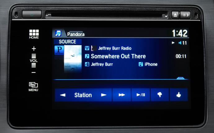 2015 Honda Civic Bluetooth HandsfreeLink