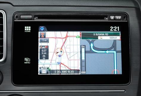 2015 Honda Civic Navigation