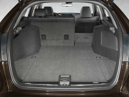 Crosstour 60/40 Rearseat