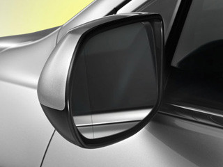 the 2014 Honda CR-V has folding power side mirrors