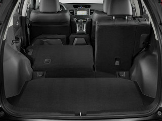 the spacious interior of the 2014 Honda CR-V