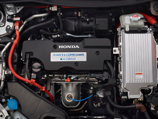 2015 Honda Accord Hybrid Earth Dreams Technology Engine