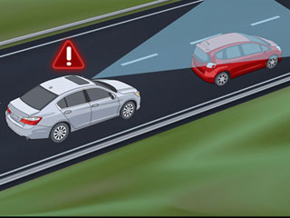 2015 Honda Accord Hybrid Front Collision Warning