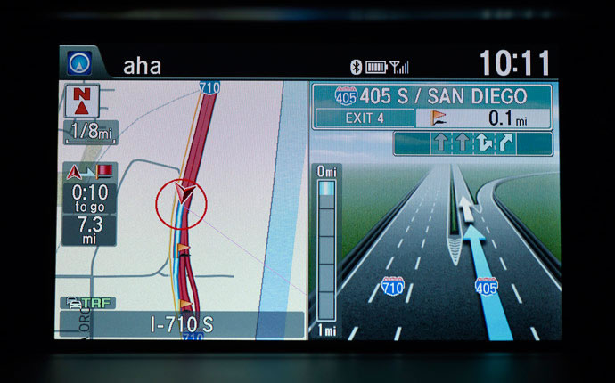 2015 Honda Accord Hybrid Satellite Navigation
