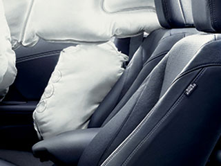 2015 Honda Accord Hybrid SmartVent Front Side Airbags