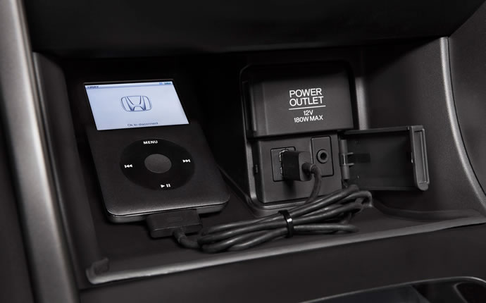 2015 Honda Accord Hybrid USB Audio Interface