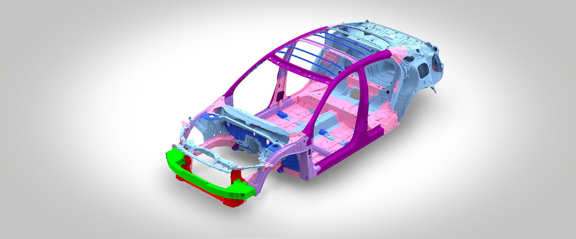 2016 Honda Civic ACE Body Structure