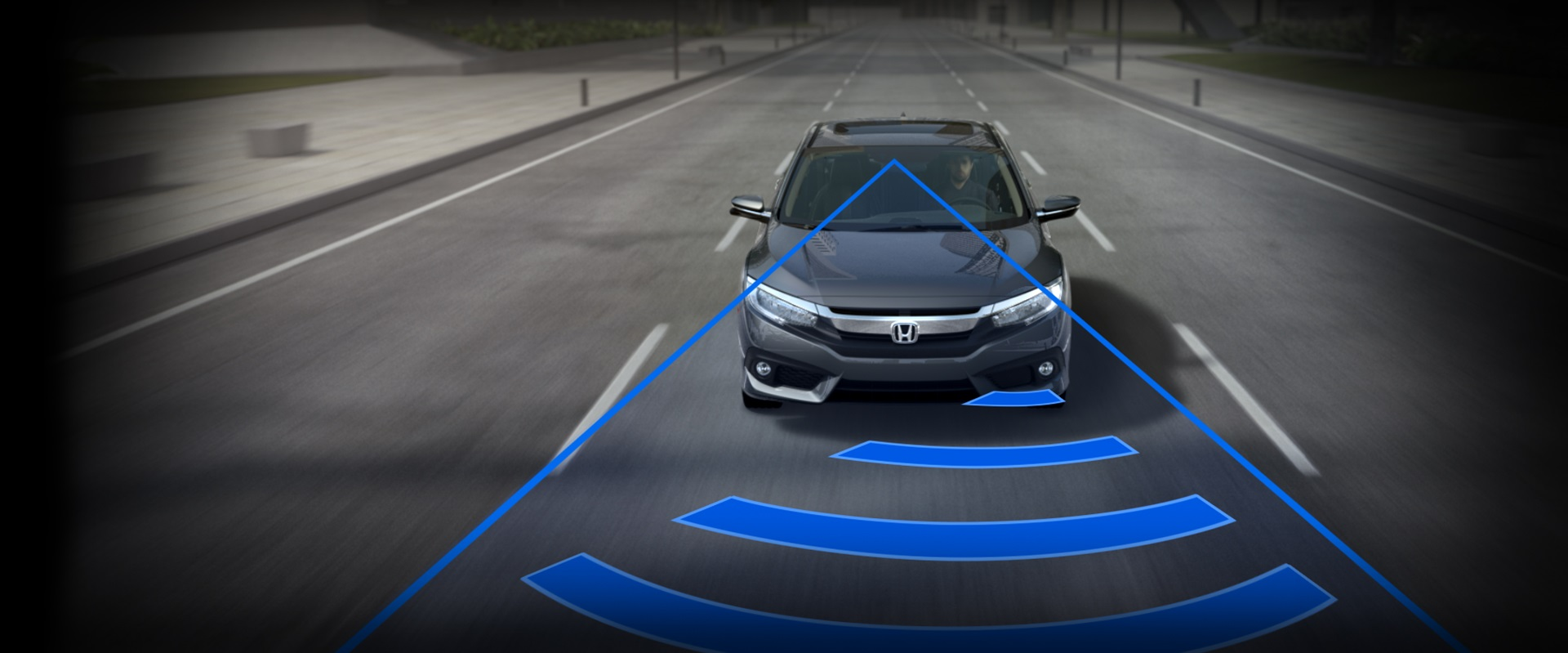 2016 Honda Civic Collision Mitigation Braking System