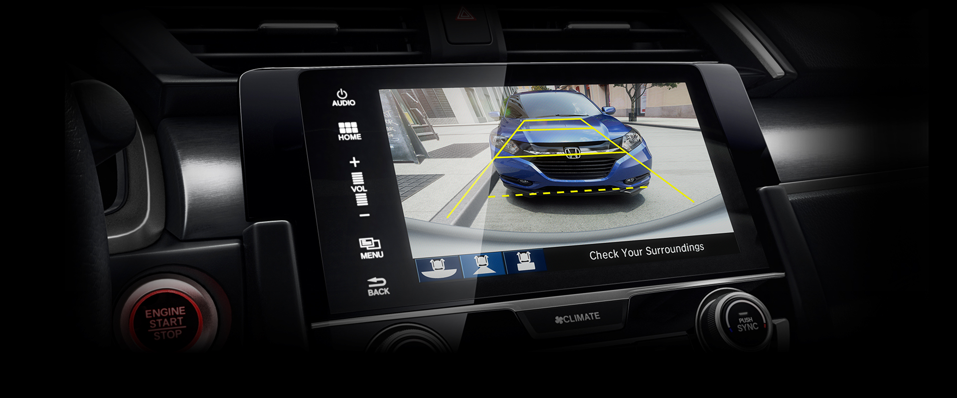 2016 Honda Civic Rearview Camera
