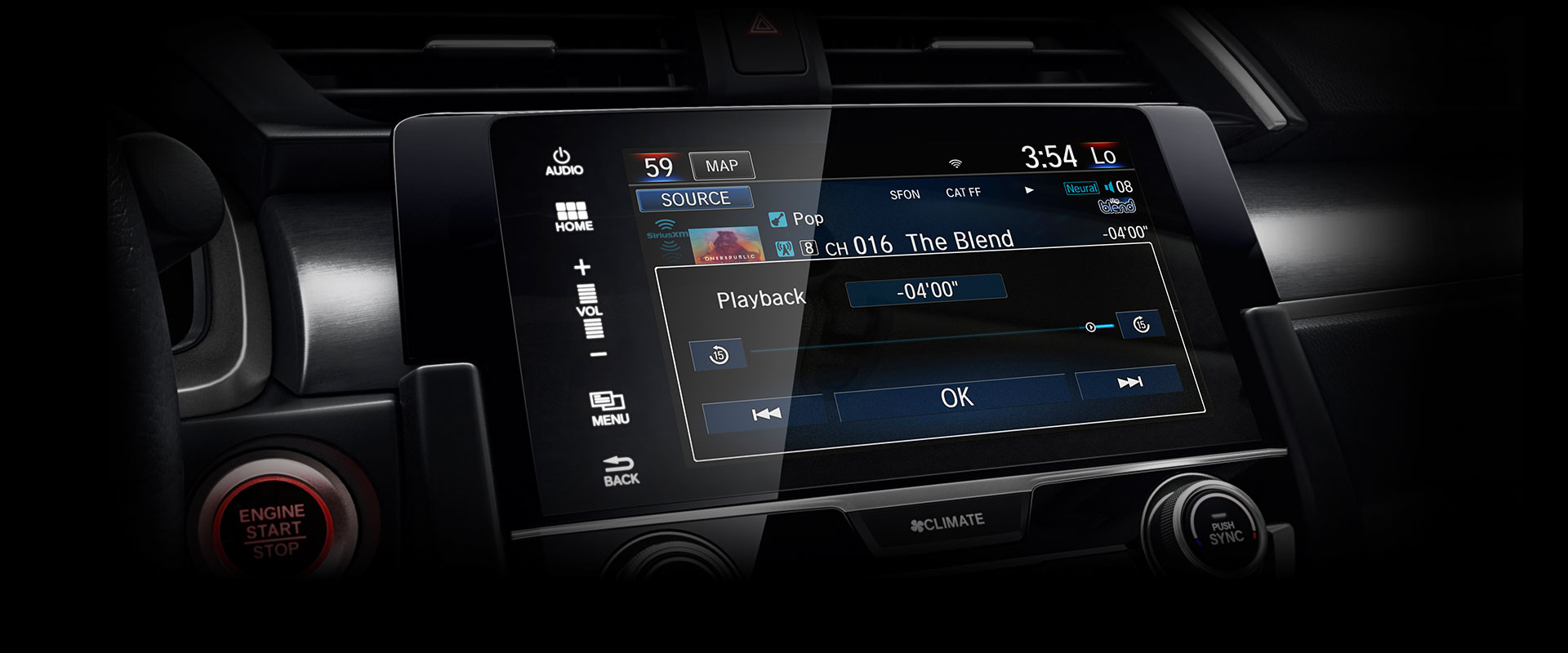 7-Inch Touchscreen