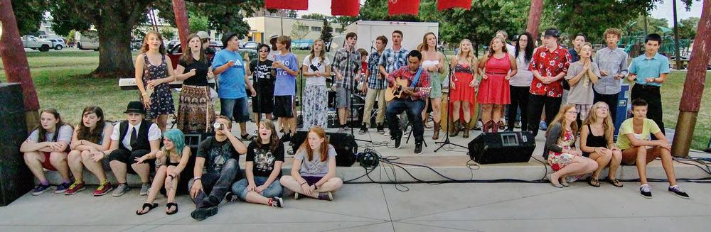 Walla Walla Symphony Rock and Roll Camp