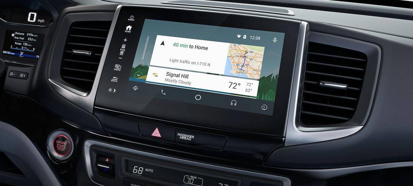 2017 Honda Ridgeline Navigation