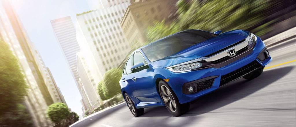 2017 Honda Civic Sedan in blue