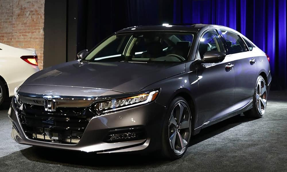 2018 Honda Accord at show