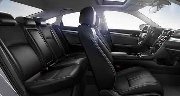 2018 Honda Civic Sedan Interior Side View