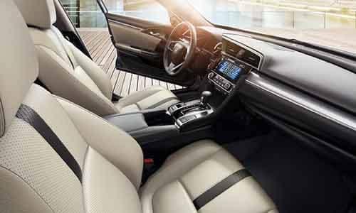 2018 Honda Civic Sedan Interior Technology features