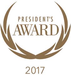 President's Award 2017 logo