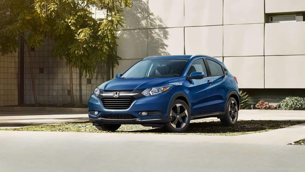 2018 Honda HR-V in blue