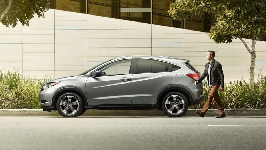 2018 Honda HR-V profile